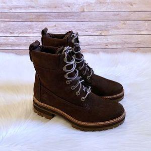 """Timberland Courmayeur Valley 6"""" Dark Brown Boots"""